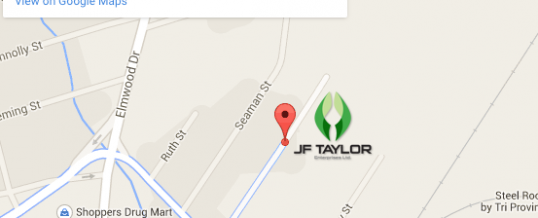 JF Taylor's new Moncton location!