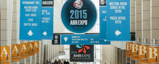 JF Taylor attends the AHR 2015 ASHRAE Conference in Chicago