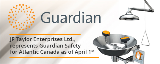 Atlantic Canada's JF Taylor Ltd represents Guardian Safety