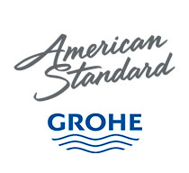 American Standard Grohe logos