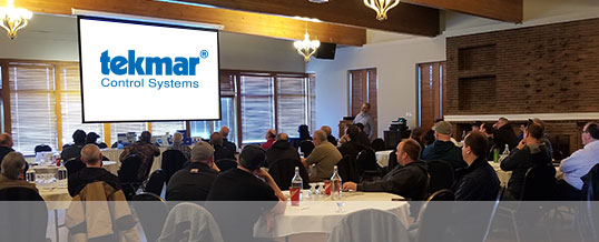 Very successful Tekmar Training Event