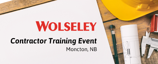 Contractor Training Event at Wolseley Moncton